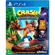 Jogo Crash Bandicoot N'sane Trilogy - PS4 (Semi-Novo)