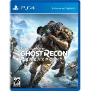 Jogo Tom Clancys Ghost Recon: Breakpoint - PS4
