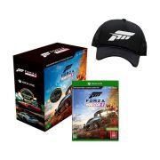 Kit com 1 Jogo Xbox One  Forza Horizon 4 e 1 Boné Exclusivo