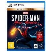 MARVEL'S SPIDER-MAN:MILES MORALES Edição Ultimate - PS5