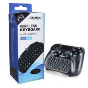 Mini Teclado Wireless Bluetooth para Controle de Playstation 4 Slim/Pro Ps4