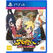 Naruto Shippuden: Ultimate Ninja Storm 4 Road To Boruto - PS4 Semi Novo