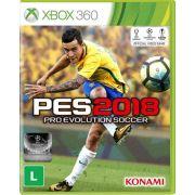 Pes 18 2018 Xbox 360 Pro Evolution Soccer Português