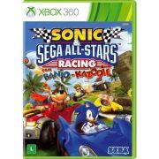 Sonic e SEGA All-Stars Racing com Banjo-Kazooie - XBOX 360
