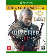 Jogo The Witcher 3 Wild Hunt Edição Completa - XBOX ONE