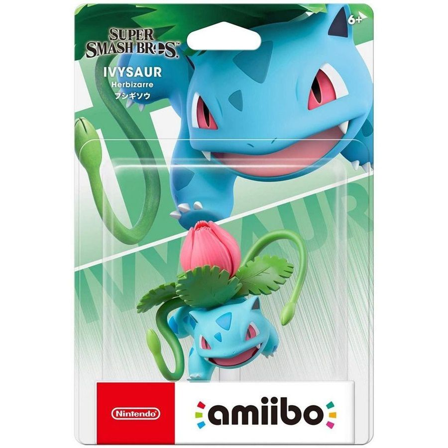 Amiibo Ivysaur Pokemon Super Smash Bros