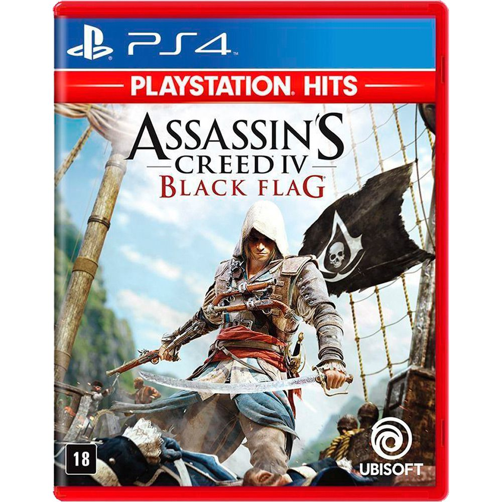 Assassins Creed IV: Black Flag PS4 (Versão em Português)
