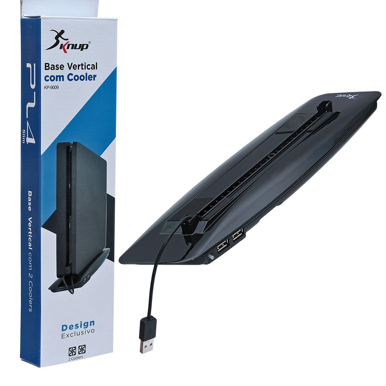 Base Cooler Exaustor Ps4 Slim KP 9009