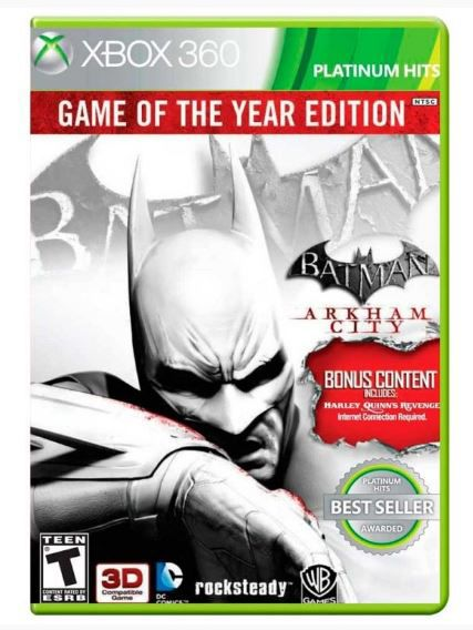 Batman: Arkham City Game of the Year Edition Xbox 360