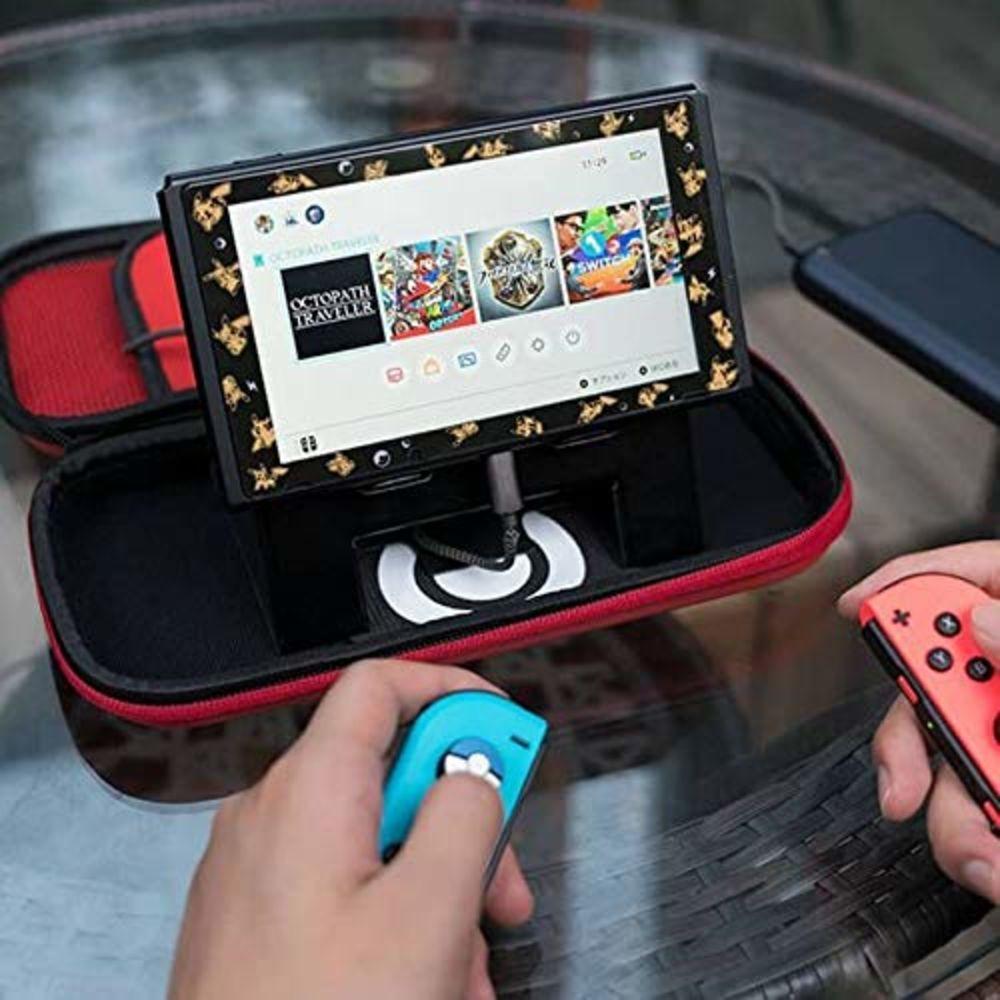 Bolsa Case De Viagem Pokeball Para Nintendo Switch