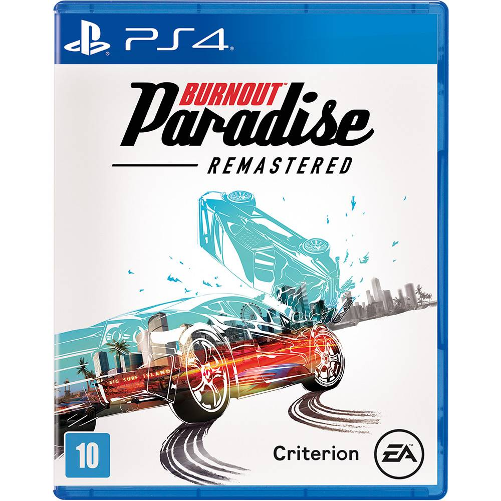 Burnout Paradise - PS4