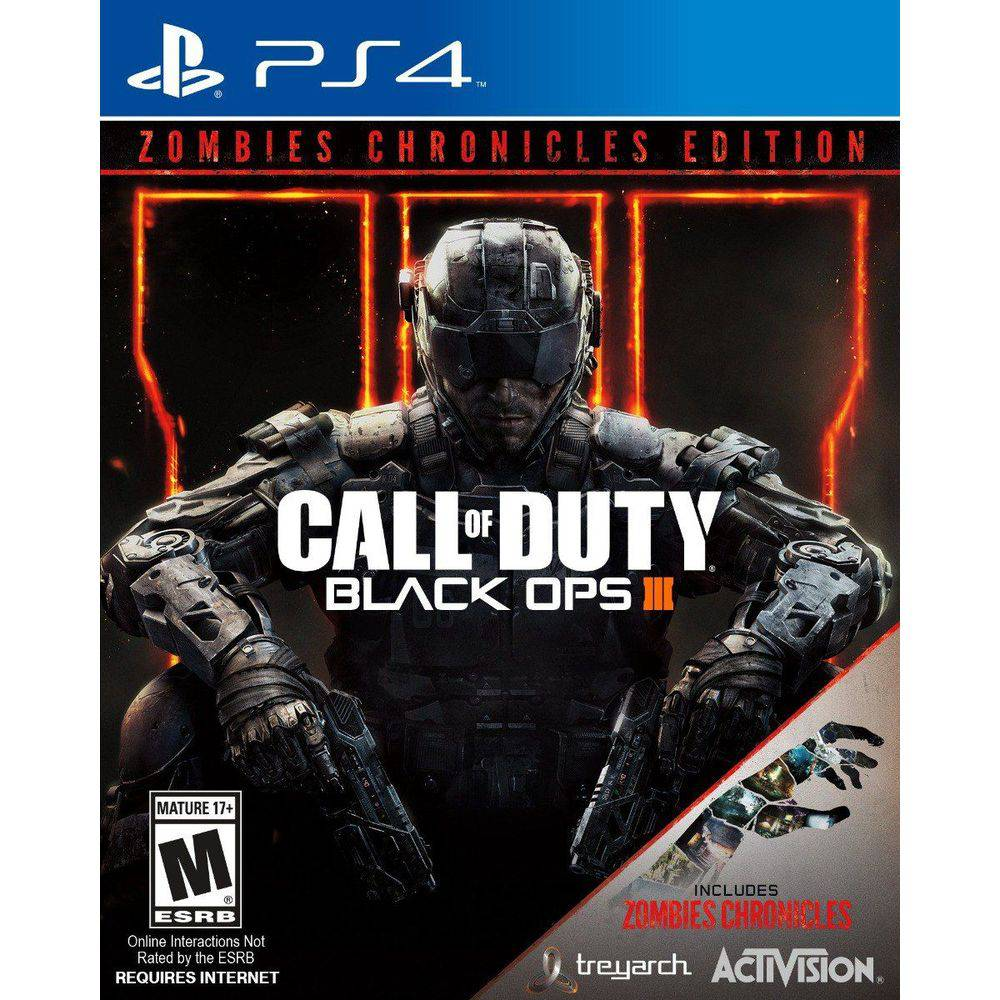 Call of Duty Black OPS III+ Zombies Chronicles - PS4