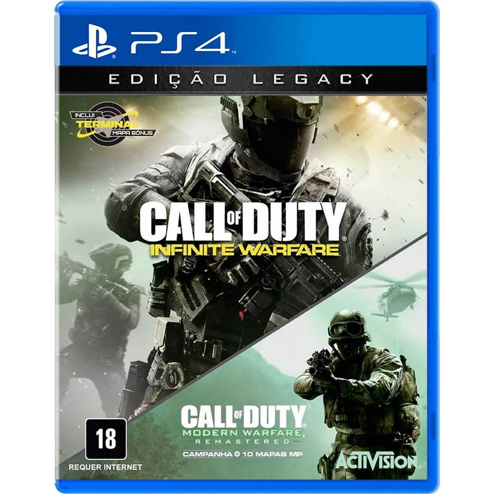 Call Of Duty Infinite Warfare legacy Ps4 (Semi-Novo)