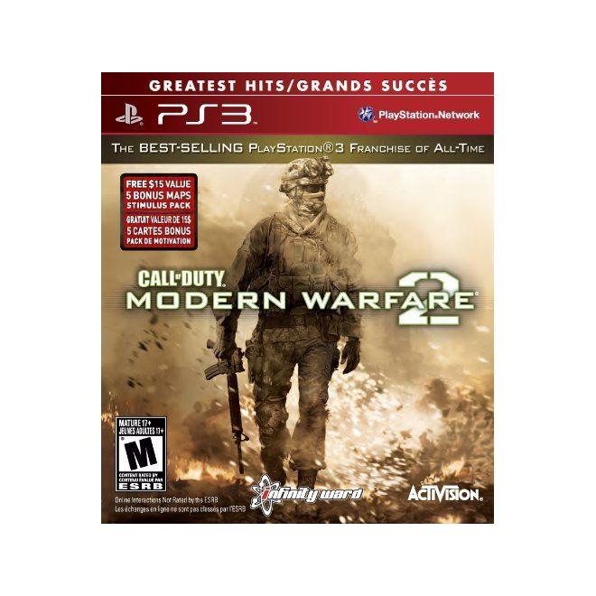Call Of Duty: Modern Warfare 2 Greatest Hits - Ps3