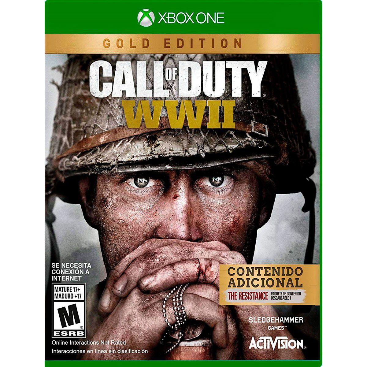 Call of Duty WWII Gold Edition Xbox One (versão em Inglês)