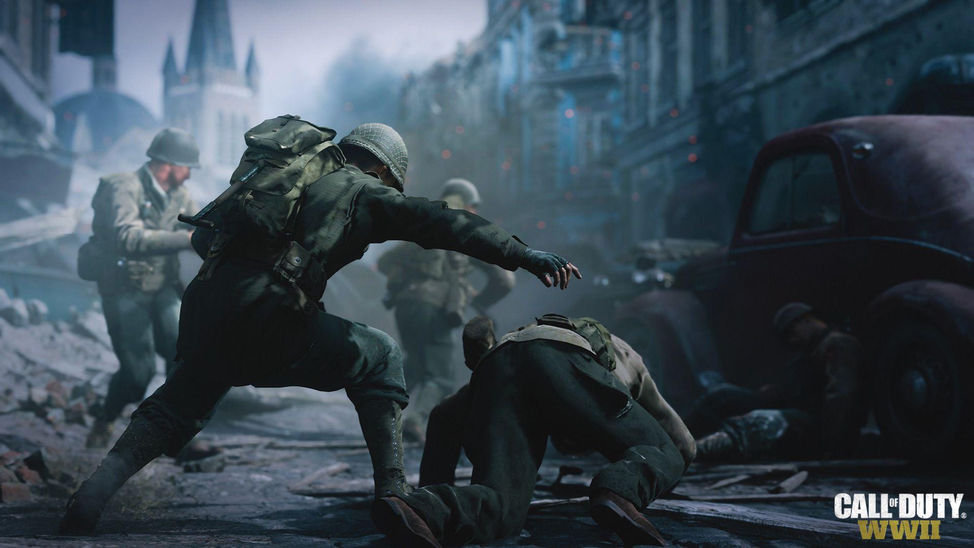 Call of Duty WWII Gold Edition Xbox One (versão em Ingês)