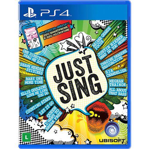 Câmera Ps4 Ps Eye Playstation 4 Com Jogo Just Sing