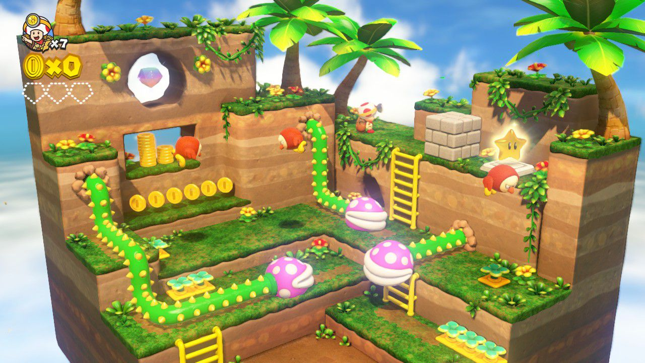 Captain Toad: Treasure Tracker - 3ds