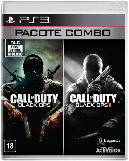 Call Of Duty Black Ops Combo Pack - Ps3 - Sony