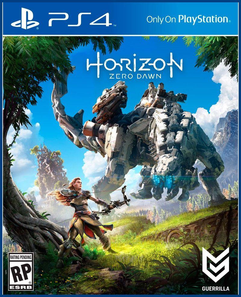 Combo Horizon: Zero Dawn + Uncharted + God of War 3 - PS4 embalagem cartão