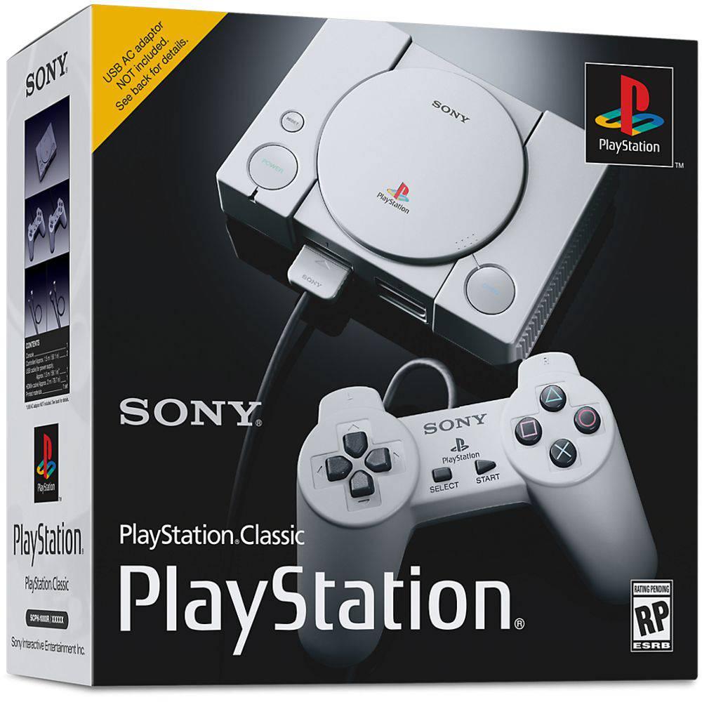 Console PlayStation Classic  com 20 Jogos