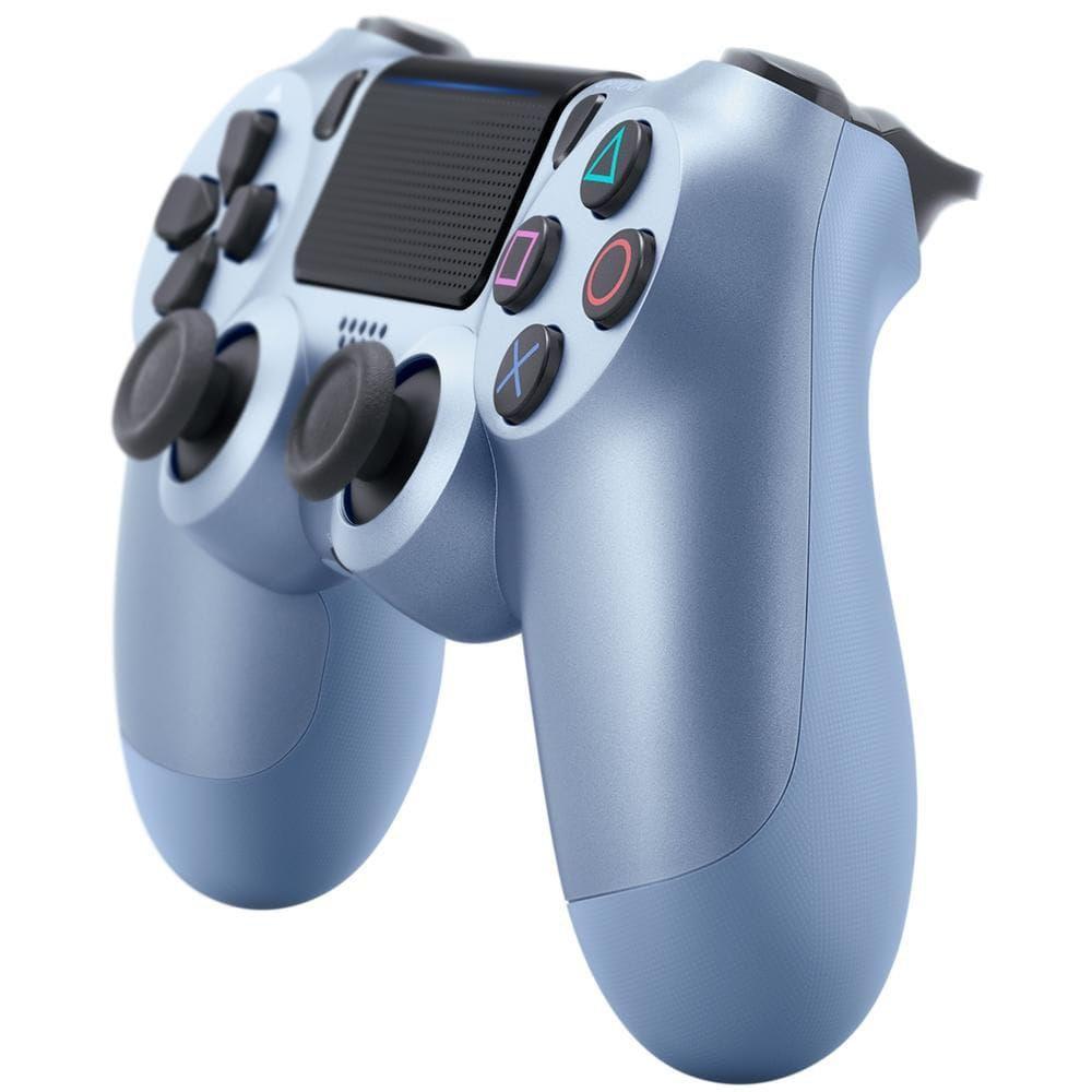 Controle Sony Dualshock 4 Azul Titanium sem fio (Com led frontal) - PS4