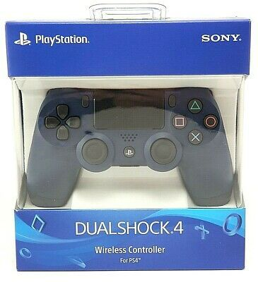 Controle Dualshock 4 Midnight Blue - PS4