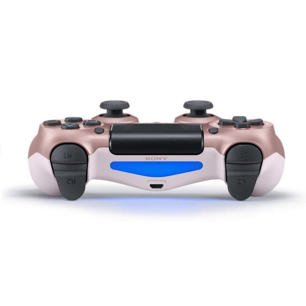Controle Sony Dualshock 4 Rose Gold sem fio (Com led frontal) - PS4