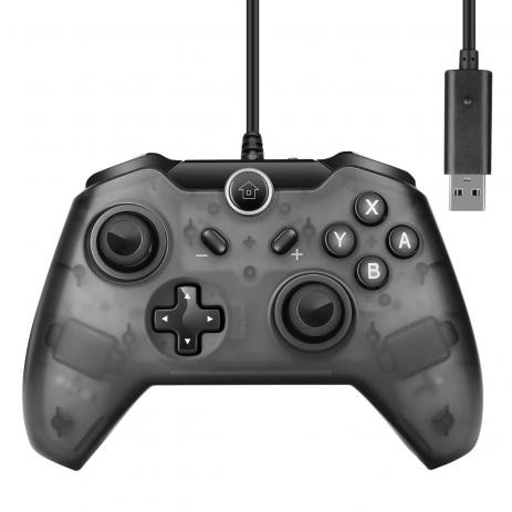 Controle com fio para Nintendo Switch e Pc Knup