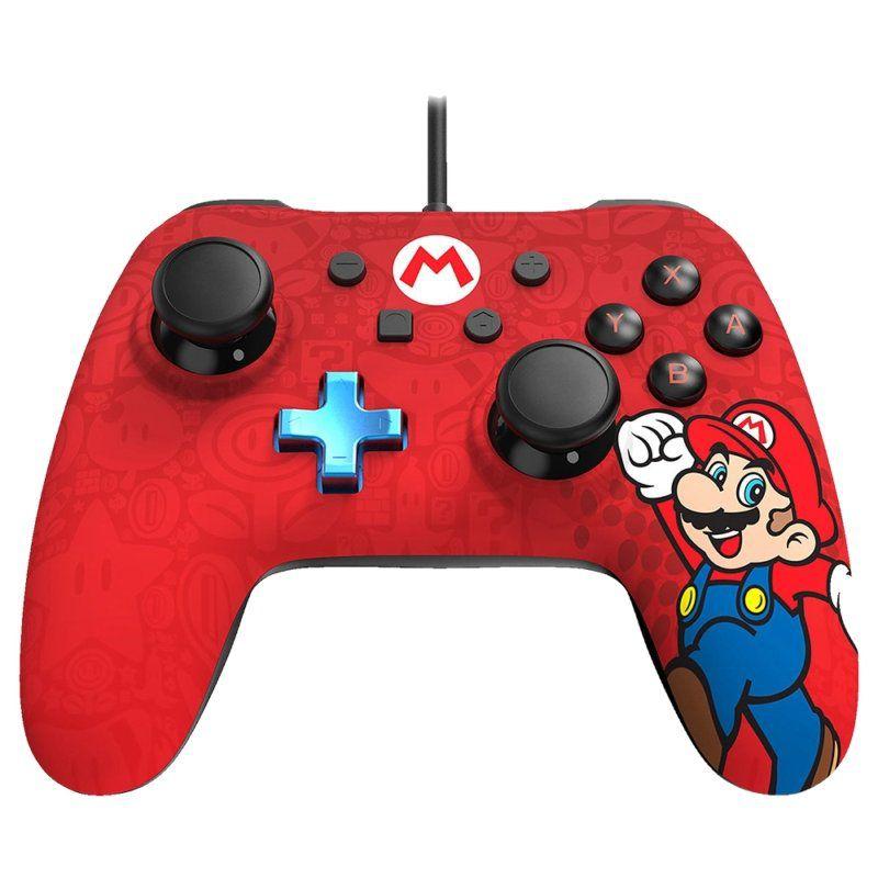 Controle Nintendo Switch Super Mario