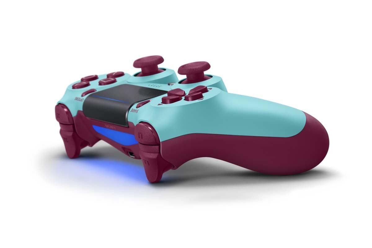 Controle Sony Dualshock 4 Berry Bluel sem fio (Com led frontal) - PS4