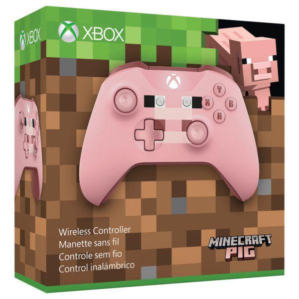 Controle Sem Fio (Minecraft Pig) - XBOX One