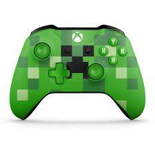 Controle sem Fio para Xbox One S - Edição Minecraft Creeper