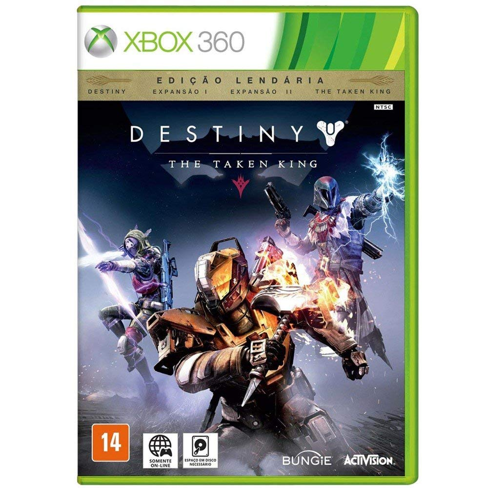 Destiny - The Taken King - Edição Lendária - Xbox 360 (Semi-Novo)