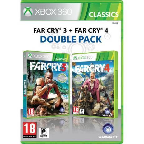 Far Cry 3 + Far Cry 4 Double Pack - Xbox 360 (Semi-Novo)