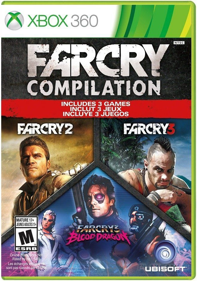 Far Cry Compilation Xbox 360