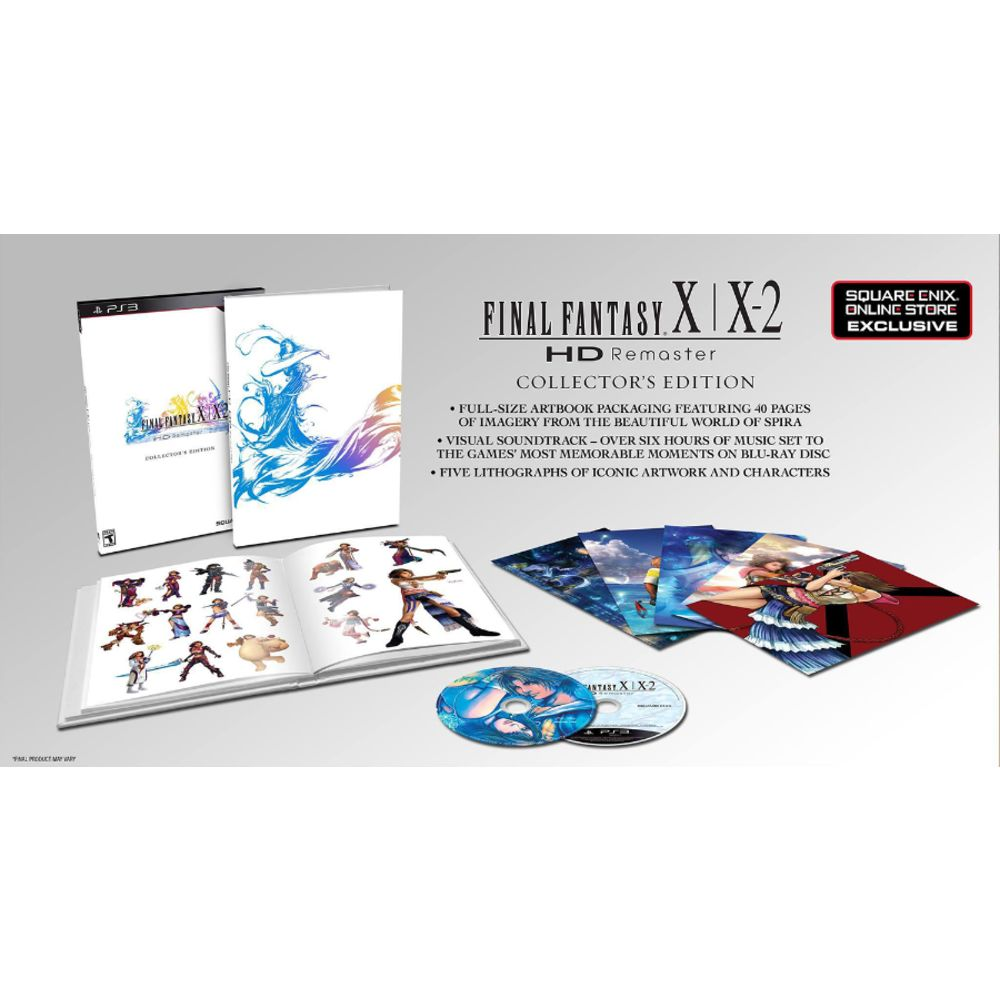 Final Fantasy X/X-2 Hd Remaster Collector's Edition - Ps3
