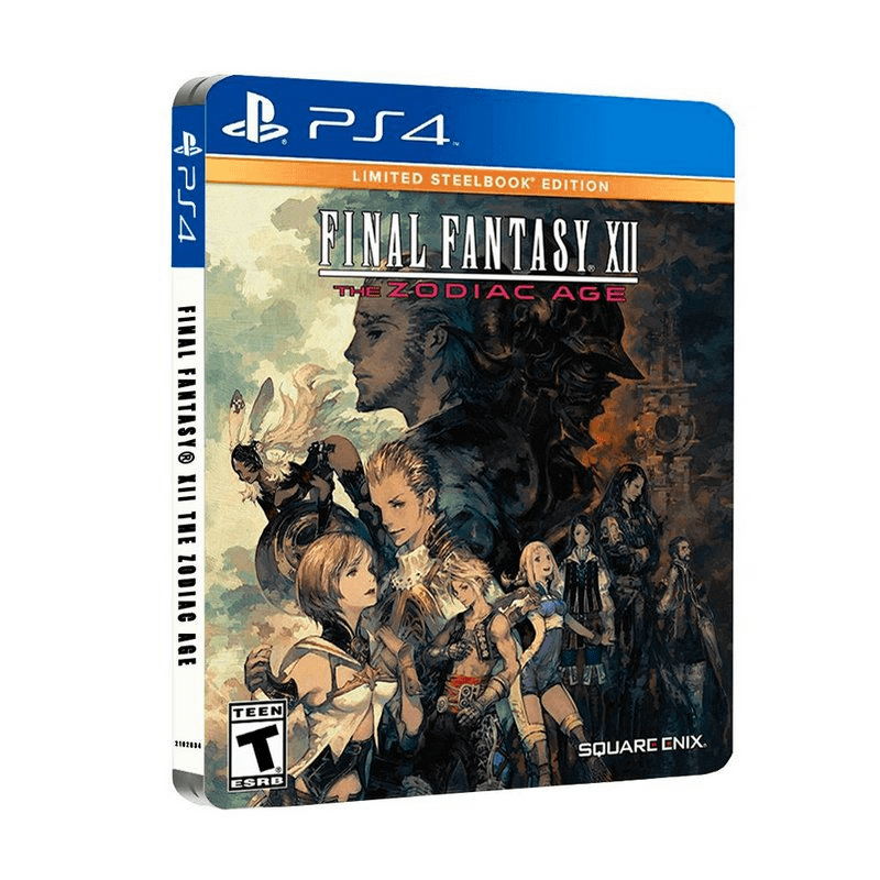 Final Fantasy Xii The Zodiac Age Limited Steelbook Edition - Ps4