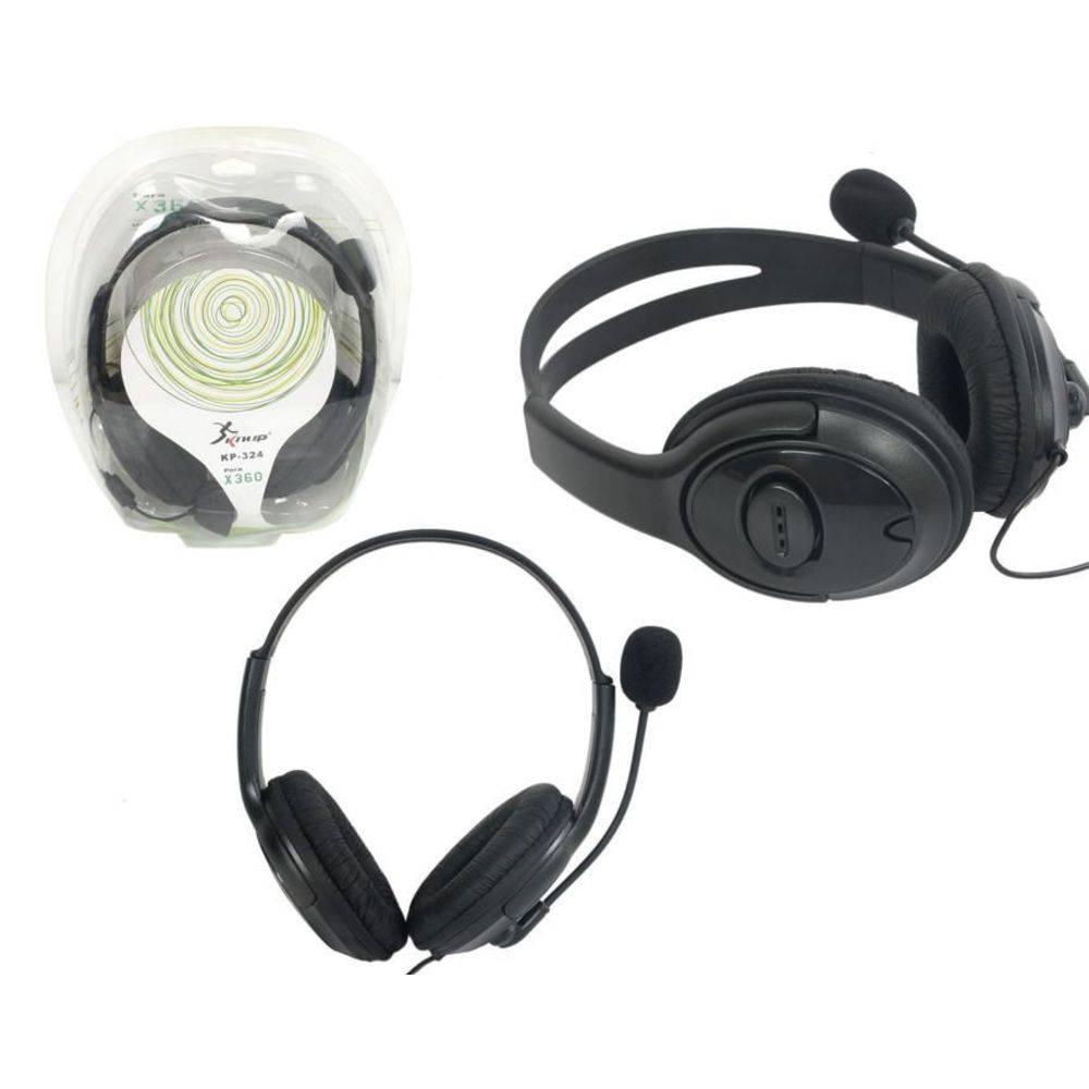 Fone De Ouvido com microfone para  Xbox 360  Knup