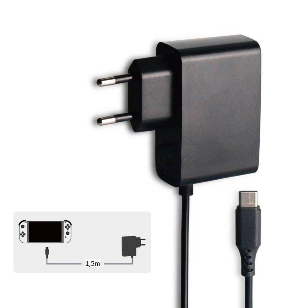 Fonte Nintendo Switch Ac Adapter Adaptador Bivolt USB Type C