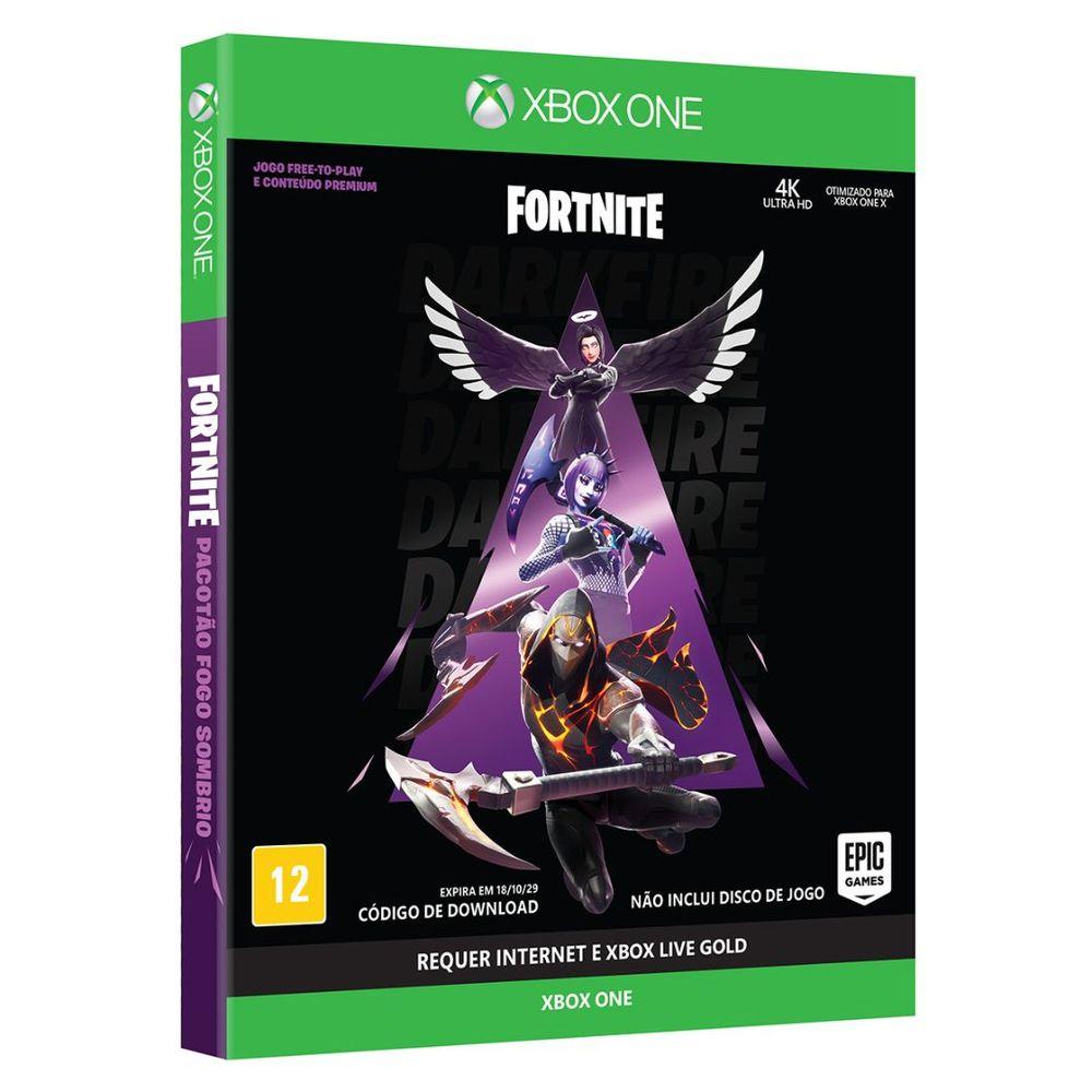 FORTNITE - Pacotão Fogo Sombrio - Xbox One