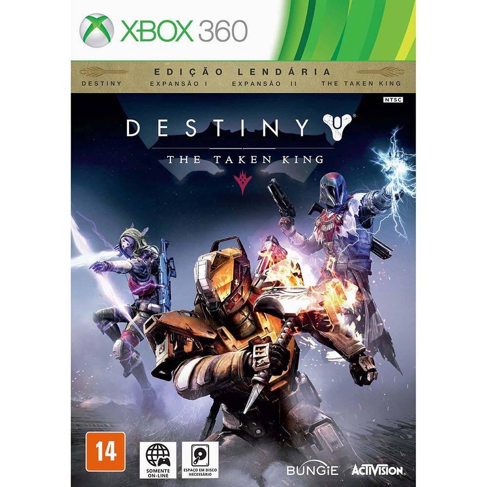 Destiny - The Taken King - Edição Lendária
