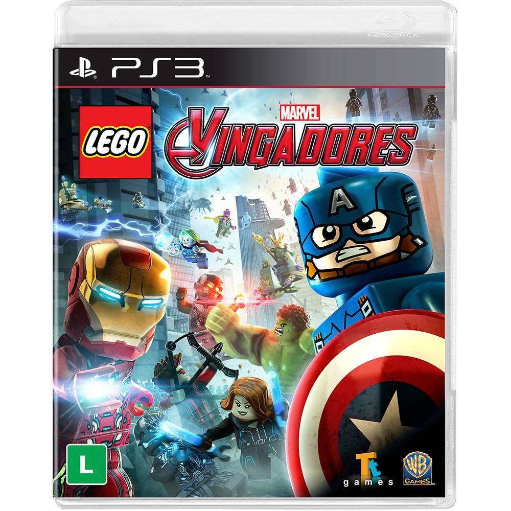Game Lego Marvel Vingadores - PS3