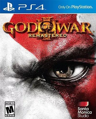 God Of War 3 Ps4 Remasterizado (embalagem Cartão)
