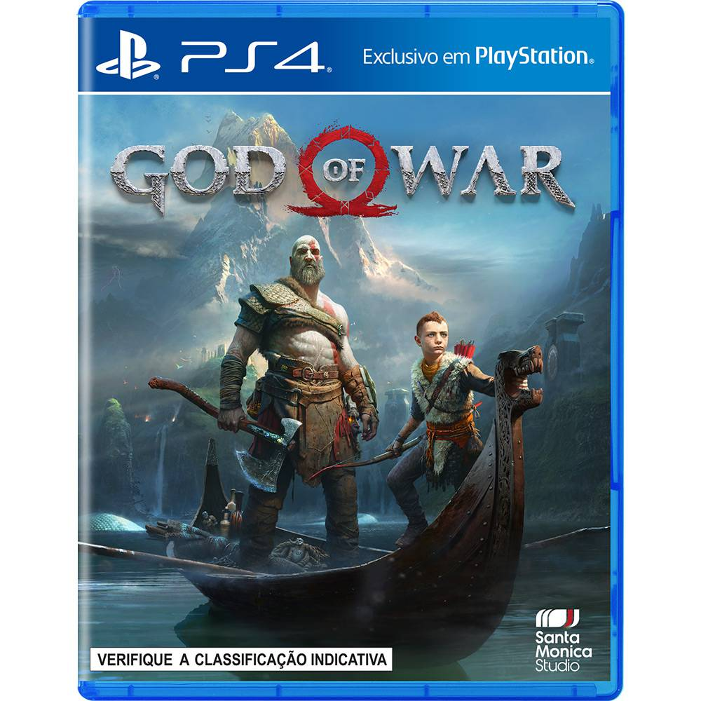 Jogo God Of War - PS4 (caixa azul)