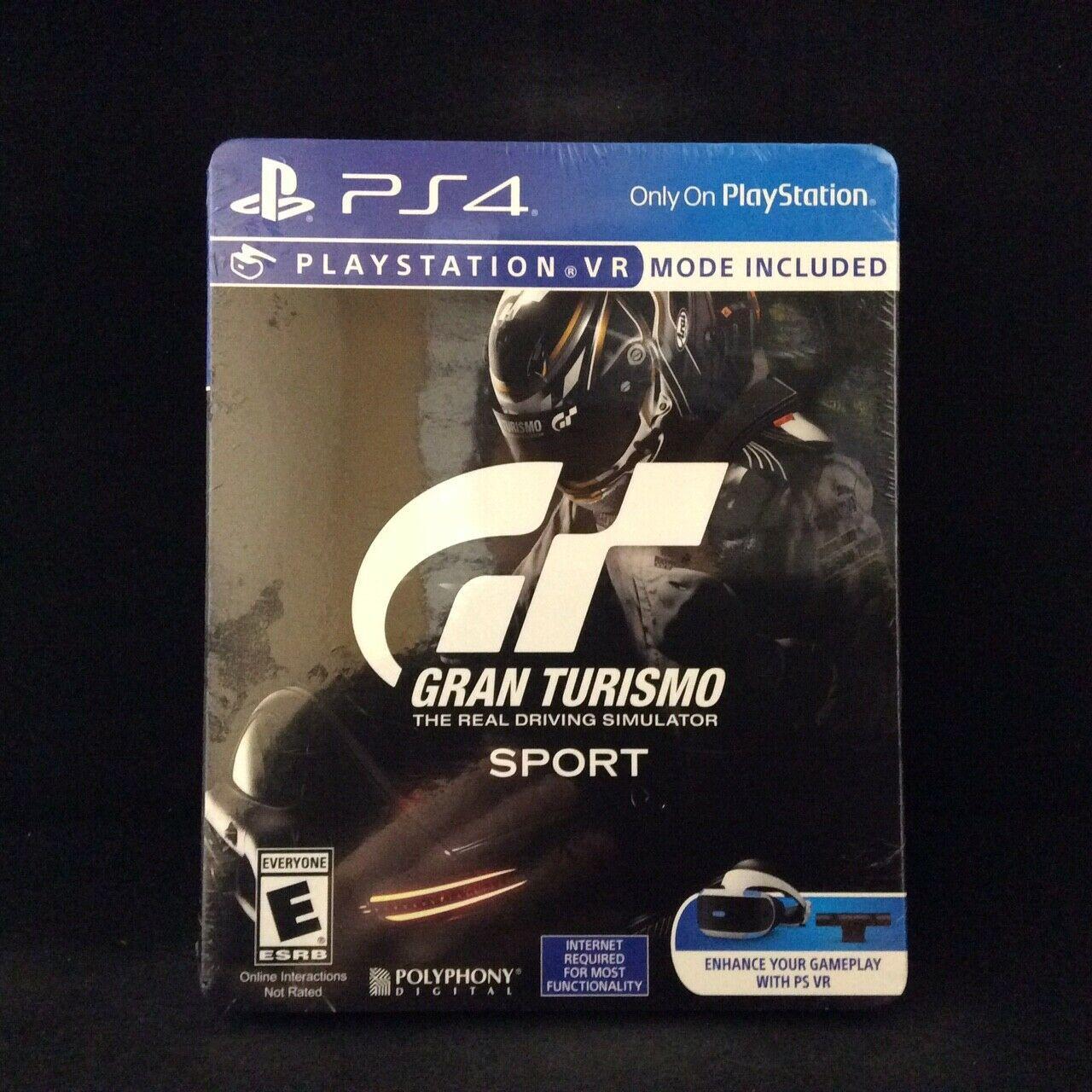 Gran Turismo Sport Edição Limitada steelbook edition Ps4