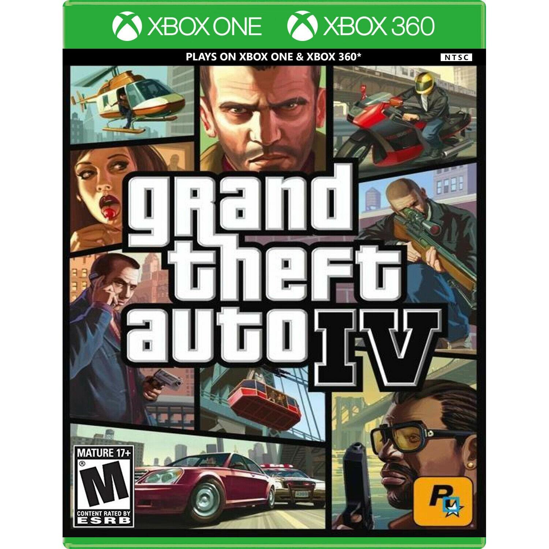 Grand Theft Auto IV - Xbox 360  Xbox One
