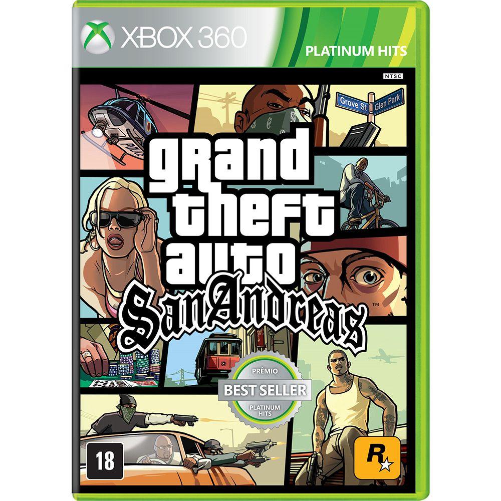 Gta Grand Theft Auto San Andreas Xbox 360 Xbox One (Semi-Novo)