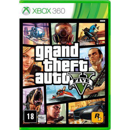 Gta V Grand Theft Auto 5 Xbox 360 (Semi-Novo)