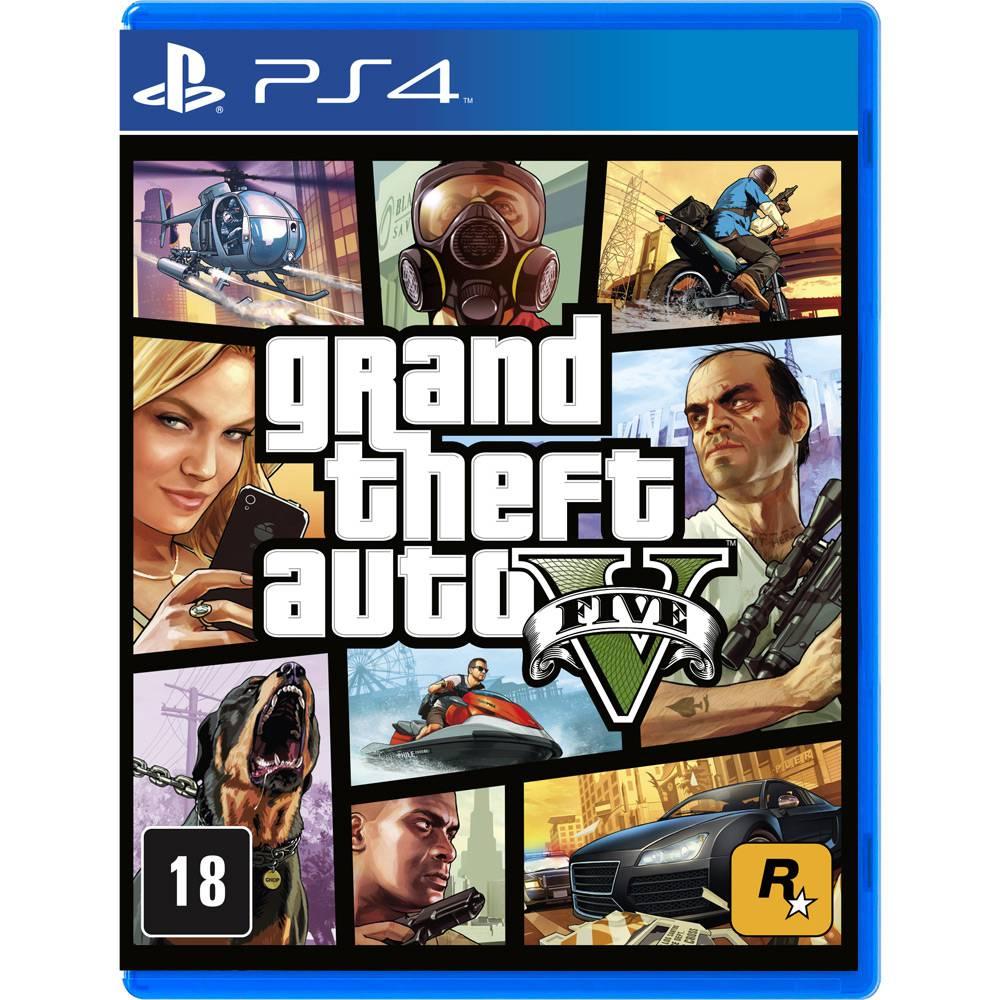 Jogo GTA V (GTA 5) Grand Theft Auto V - Ps4